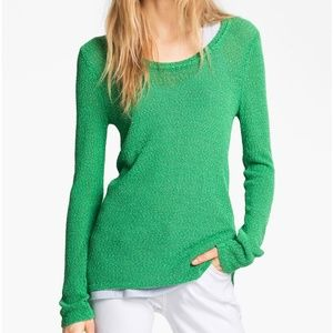 Rag and Bone Green Lightweight Adina Pullover